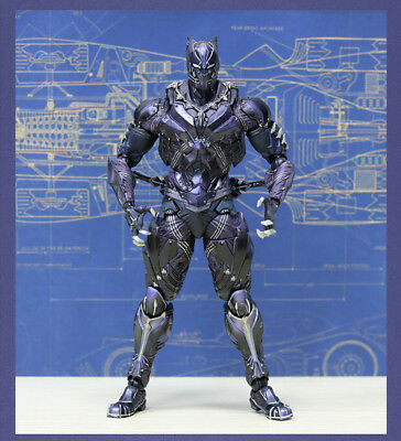 Crazy Toys Play Arts Black Panther Figure New