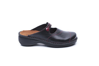 Naot Arad Women Shoes Clogs Slip On Leather Comfort Wedge Slides New Casual Flat