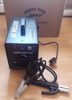 Dirty Pro Tools™ A366 Arc 160 Amp  Welder