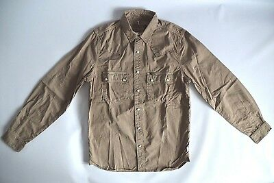 "Barbour International Steve Mcqueen ""alfalfa"" Western Slim Cotton Shirt - M/l/xl"