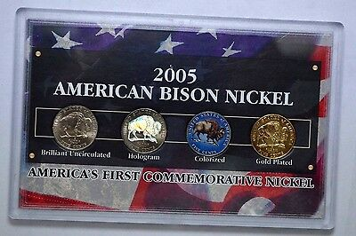 2005 American Bison Nickel Collection, AMERICA'S FIRST COMMEMORATIVE NICKELS SET
