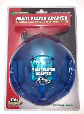 PS One 4-Controller Hub Multi player Adapter- PlayStation 1 - PS1  Pelican New