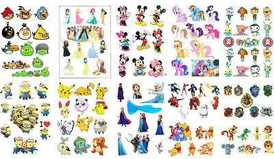 baymax Disney princess Frozen mickey pony potter party scrapbook stickers