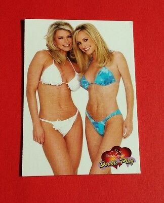 2002 Bench Warmer International Camille & Tamie Double Play Card #94