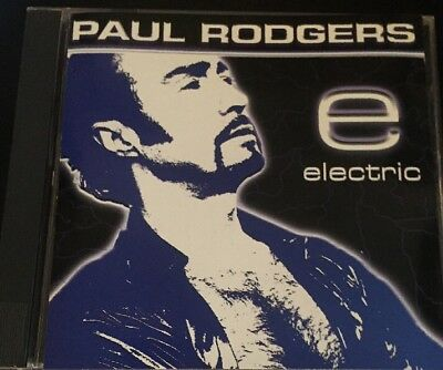 PAUL RODGERS - ELECTRIC Free BAD COMPANY CD Queen Live