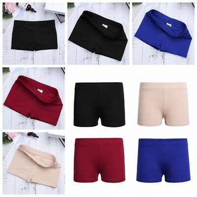 Kids Girls Ballet Dance Booty Shorts Sports Gym Workout Yoga Activewear Pants