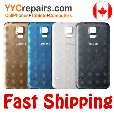Samsung Galaxy S5 G900 i9600 Battery Rear Back Plastic Cover Door Lid Case
