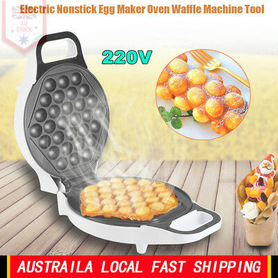 220V 640W Non Stick Electric Household Bubble Egg Maker Baker Machine Tool AU