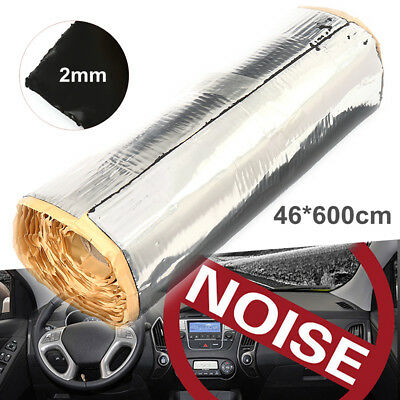 46x600cm Car Deadening Vibration Sound Proofing Damping Mat Insulation Deadener