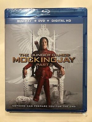 The Hunger Games: Mockingjay Part 2 Blu-ray + DVD + Digital HD Factory Sealed