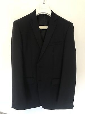 Blaq Suit Jacket 100R Slim Fit New