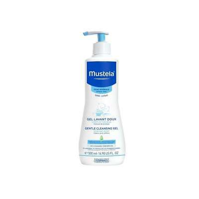 New Mustela Gentle Cleansing Gel 500ml