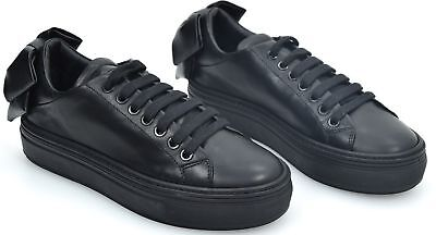 PINKO WOMAN SNEAKER SHOES CASUAL FREE TIME LEATHER CODE 1H20A3 Y3B6 AMETISTA 1