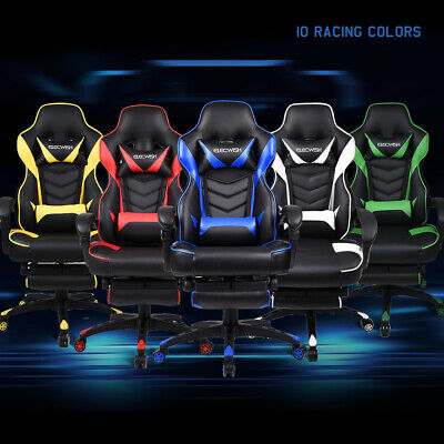 High Back Racing Gaming Chair Ergonomic Computer Office Desk Chair Recliner Home
