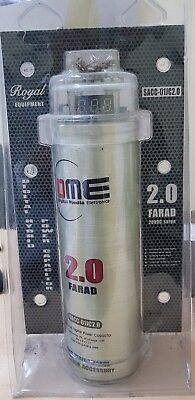 Condensatore digitale DME 2 Farad 11V 20V da amplificatore autoradio con display