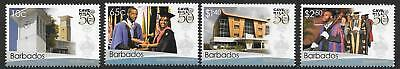 Barbados Sg1422/25 2014 University Of West Indies  Mnh