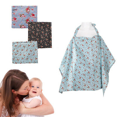 DR7 Baby Mum Breastfeeding Nursing Covers Udder Up Cotton Blankets Shawl Cover E
