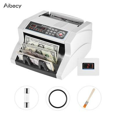 Business LED LCD Bill Counter Money Cash Machine Automatic Banknote Countin M1U2