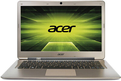 """Acer Aspire S3-391  13"""" Ultrabook - 1.8GHz CPU, 500GB Hdd, Win10 -  1.3cm thick"""