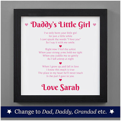 Personalised Fathers Day Gifts From Daughter - First Fathers Day Gifts Baby Girl