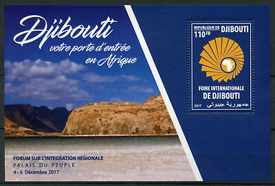 Djibouti 2017 MNH International Fair of Djibouti 1v M/S Business & Trade Stamps