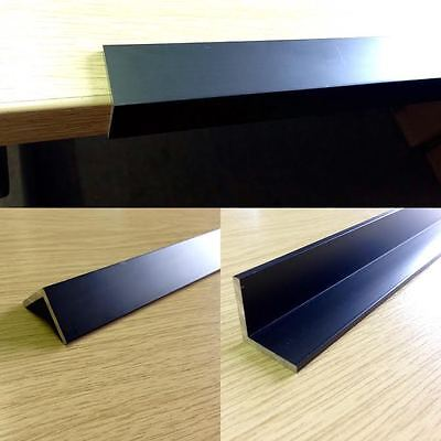 Black Anodised Aluminium Angle/Trim/Edging,Various Sizes