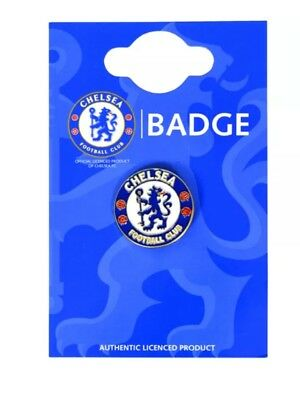 Official Chelsea Fc Club Enamel Crest Pin Badge Football Club Gift Fathers Day