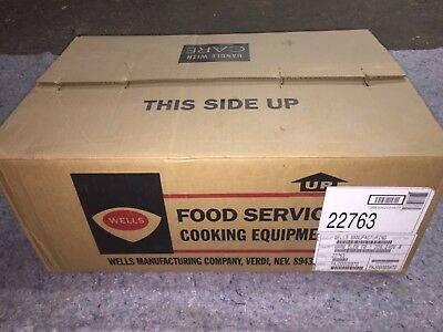 NOS NEW Wells Manufacturing Food Service Equipment Warm Element Model 22763