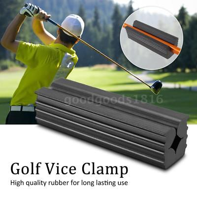 Rubber Golf Vice Clamp Professional Vice Jaws Club Repair Vice Clamp Golf F4A6