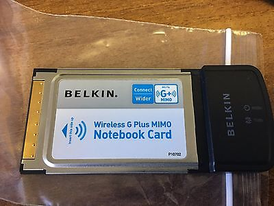 BELKIN WIRELESS G PLUS MIMO NOTEBOOK DRIVERS DOWNLOAD (2019)
