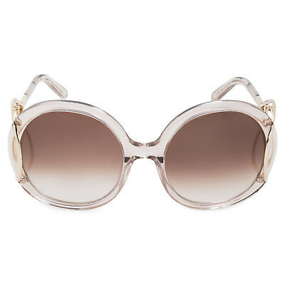 6b71ef948f7c Chloé Jackson Round Sunglasses CE703S 272 56 Turtledove Brown Gradient  Lenses