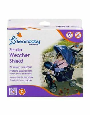 Dreambaby Stroller Weather Shield, New in Box