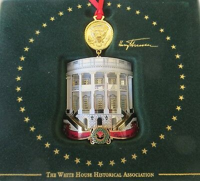 2018 Official White House Historical Association Pres.Truman Christmas Ornament