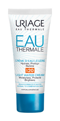 Uriage Eau Thermale Light Water Cream 40ml SPF 20