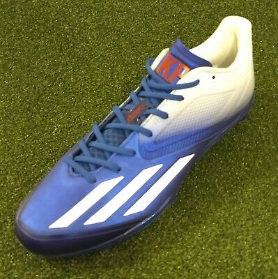 1da688afc4c Kevin Pillar Game Issued PE Adidas Baseball Cleats Size 11.5 Blue Jays Red  White