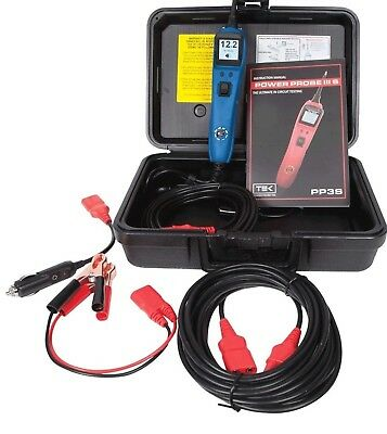 Power Probe 3S W/ Case & Accessories Blue Pp3S02As