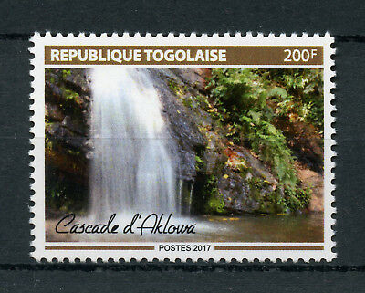 Togo 2017 MNH Cascade Aklowa Waterfalls Falls 1v Set Tourism Nature Stamps