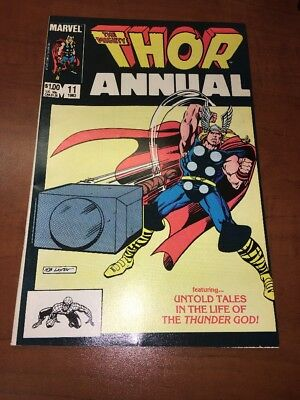 The Mighty Thor Annual #11 Eitri 1st Appearance 1983 MARVEL INFINITY WAR HOT!