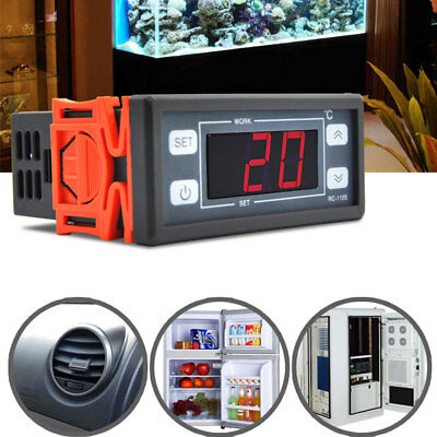 Digital Thermostat RC-112E AC110V Chiller Seafood Pool Warm and Cold
