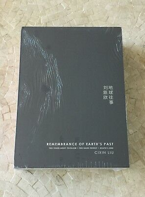 REMEMBRANCE OF EARTH'S PAST (Three-body Problem) CIXIN LIU - SIGNED NUMBERED LTD