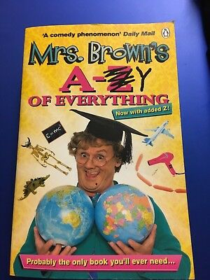 Mrs Browns A-Y of Everything book Brendan O'Carroll