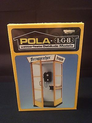 Rare! Brand-New, Sealed in Box! POLA LGB Telephone Booth Call Box Model 952 Kit