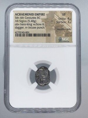 Achaemenid Empire, 5th - 4th Century BC, AR Siglos, NGC VF