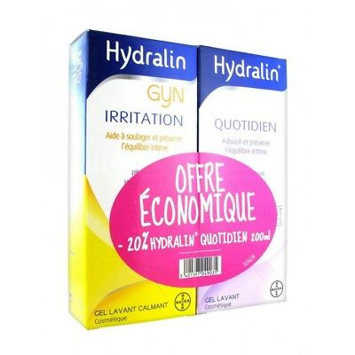 Hydralin Gyn 200ml + Hydralin Quotidien 200ml