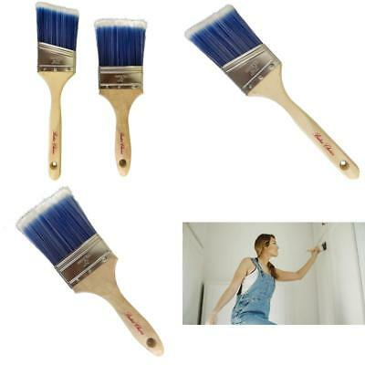 Bates - Paint Brushes, 2 Pieces (3-Inch And Angle 2.5-Inch), Trim Paint Brush,
