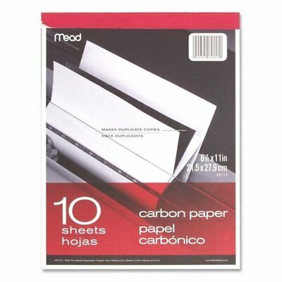 "Mead 40112 - Carbon Paper Tablet - 8.5"" X 11"" (10 Sheets)"