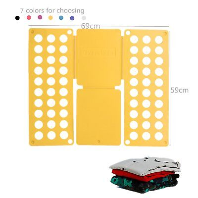 Clothes T-Shirt Folder fast Folding Board Flip Fold For Child Child Laundry IPSE