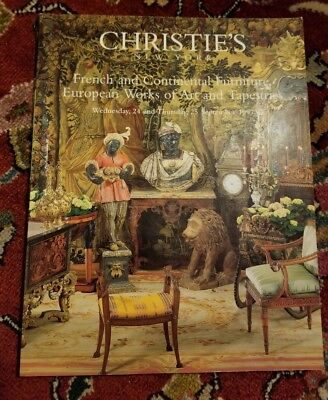 Christie's French and continental furniture European voice of art and tapestries