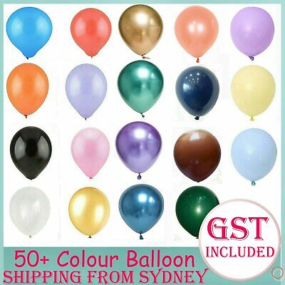 30-100x Latex Standard 25cm Helium Balloons Balloon Party Wedding Birthday Toy