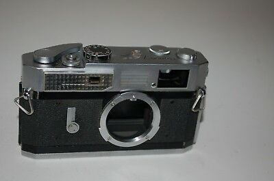 Canon-7 Vintage 1965 Japanese Rangefinder Camera. Serviced. No.908167. UK Sale